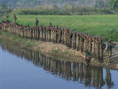 naga-army-under-training